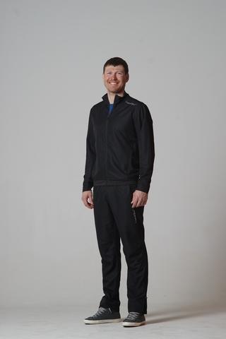 Беговой костюм детский Nordski Jr Sport черный