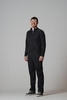 Беговой костюм детский Nordski Jr Sport черный - 1