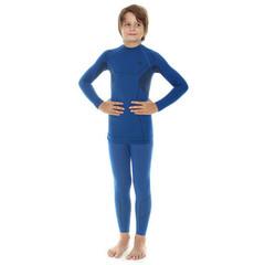 Комплект термобелья детский Brubeck Thermo для мальчиков синий