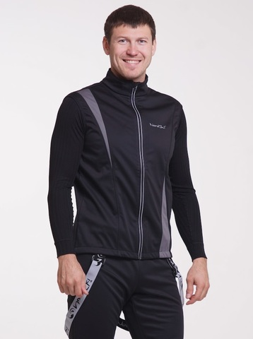 Nordski Active лыжный жилет мужской black-grey