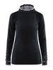 Craft Core Fuseknit рубашка беговая с капюшоном женская black - 1