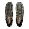 Asics Gel Bnd кроссовки прогулочные мужские черные-оливковые - 4