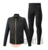 Mizuno Reflect Wind Warmalite костюм для бега мужской черный - 1