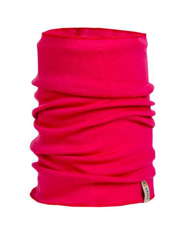 Janus Design Wool многофункциональный баф горловина детский малиновый