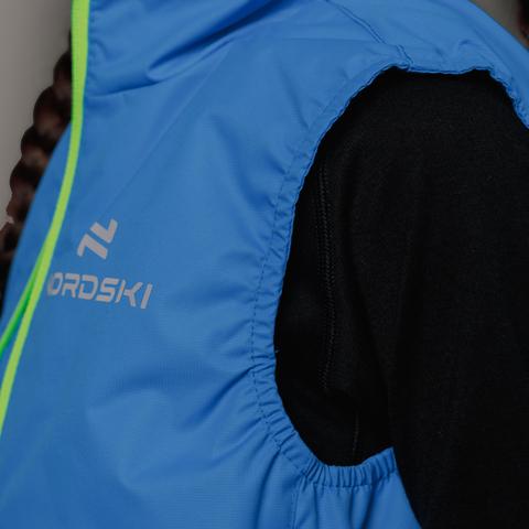 Nordski Kids Motion теплый жилет детский blue