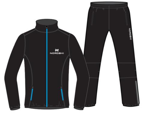 Nordski Motion Premium костюм для бега мужской