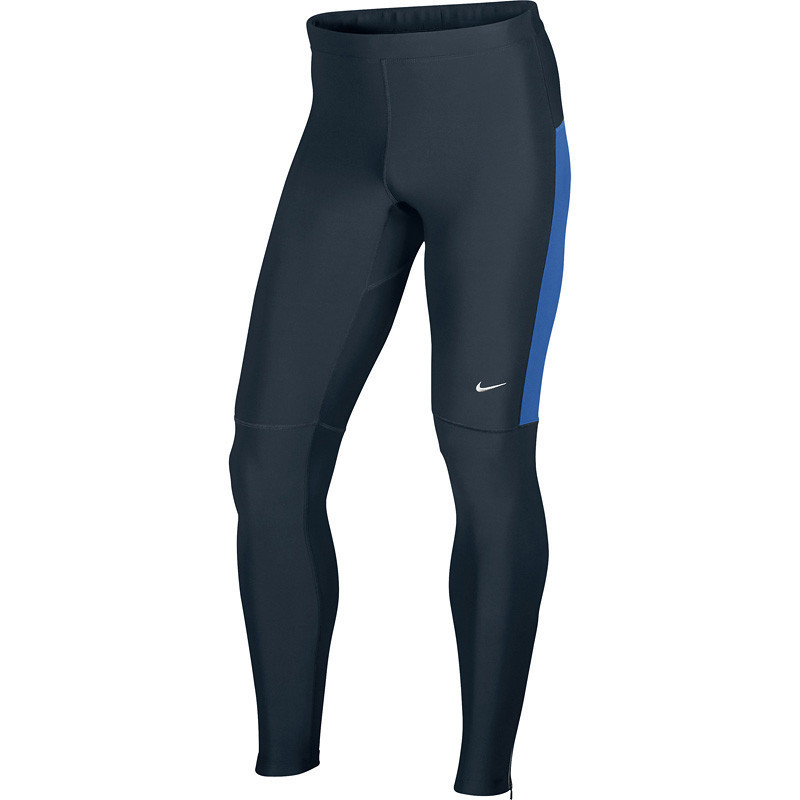 Тайтсы Nike Filament Tight чёрно-синие