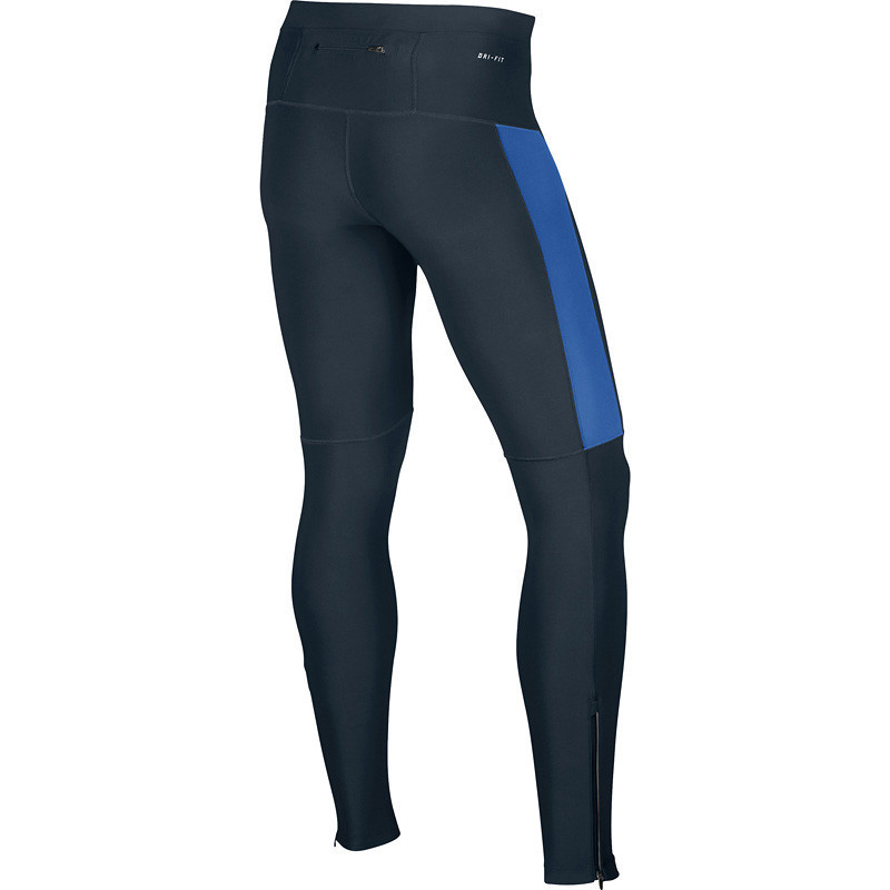 Тайтсы Nike Filament Tight чёрно-синие - 2