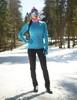 Nordski Elite разминочная куртка женская синяя - 2