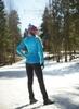 Nordski Elite разминочная куртка женская синяя - 3