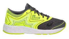 Asics Gel Noosa Tri 12 GS кроссовки для бега детские черные-желтые