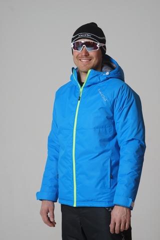 Nordski Kids Motion детский утепленный лыжный костюм blue-black
