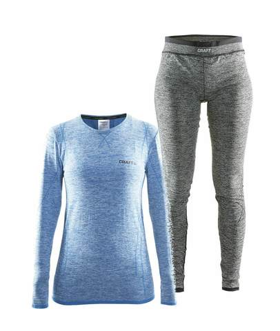 Craft Comfort комплект термобелья женский blue-black