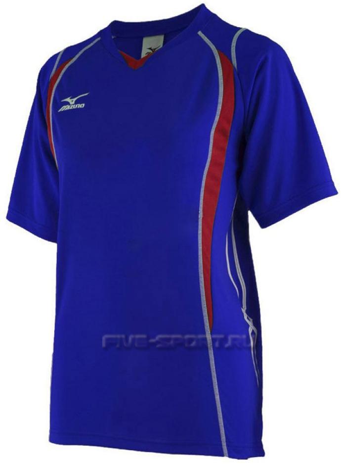 Mizuno Premium Top футболка волейбольная мужская blue