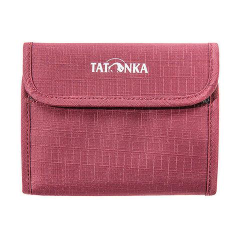 Tatonka Euro Wallet кошелек bordeaux red