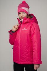 Nordski Jr Motion прогулочная лыжная куртка детская raspberry