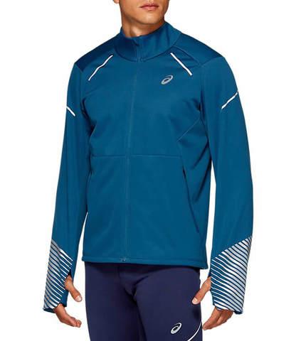 Asics Lite Show 2 Winter куртка для бега мужская темно-синяя