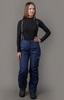 Nordski Mount лыжные утепленные брюки женские dark blue - 1