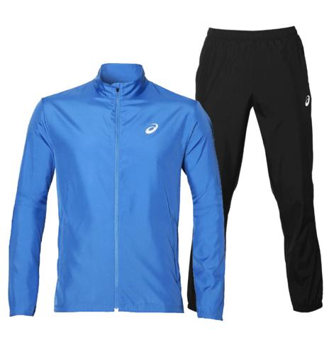 Asics Silver Woven мужской костюм для бега blue