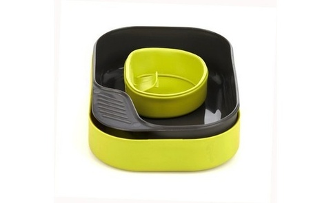Wildo Camp-A-Box Basic набор туристической посуды lime