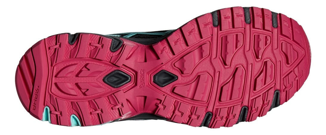 ASICS GEL-SONOMA 2 женские кроссовки внедорожники черные - 3