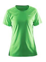 Craft Prime Run футболка женская зеленая