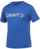 Футболка Craft Active Run Logo Tee мужская dark blue - 1
