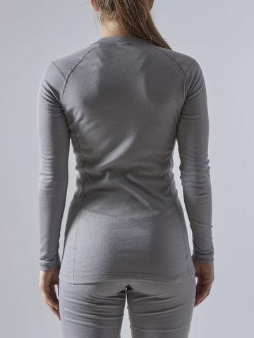 Craft Core Warm Baselayer комплект термобелья женский grey