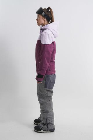 Cool Zone VIBE комбинезон для сноуборда женский лавандовый соты