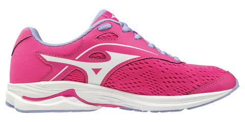 Mizuno Wave Rider 23 кроссовки для бега подростковые розовые