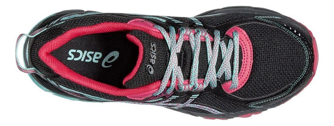 ASICS GEL-SONOMA 2 женские кроссовки внедорожники черные - 4