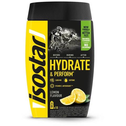 Isostar Hydrate & Perform изотонический напиток lemon 400 г