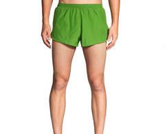 "Brooks Sherpa 2"" Short шорты для бега мужские зеленые"