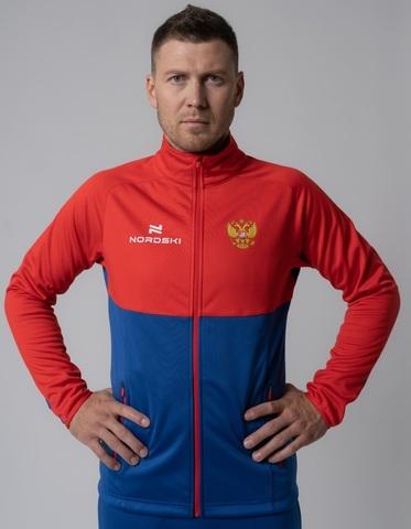 Nordski Premium Patriot разминочная куртка мужская