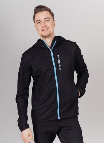 Nordski Run костюм для бега мужской black-blue