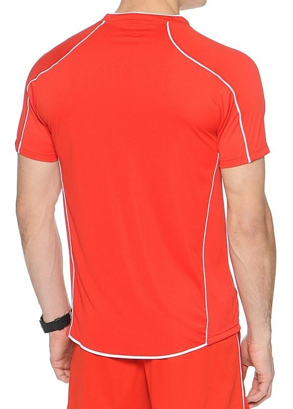 Волейбольная футболка Asics T-shirt Volo мужская красная - 3