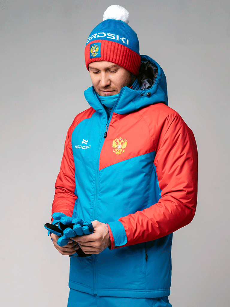 Nordski National 2.0 утепленная лыжная куртка мужская - 2