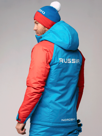 Nordski National 2.0 утепленная лыжная куртка мужская