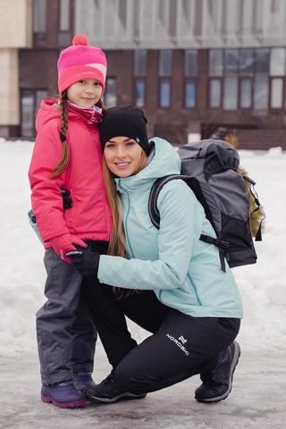 Nordski Jr Motion утепленный лыжный костюм детский raspberry