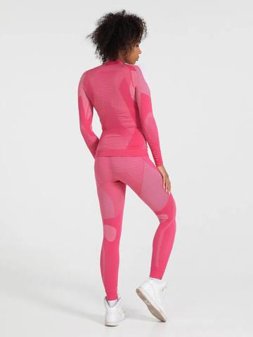 V-MOTION Alpinesports женское термобелье комплект розовый