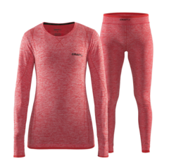 Craft Active Comfort комплект термобелья женский red