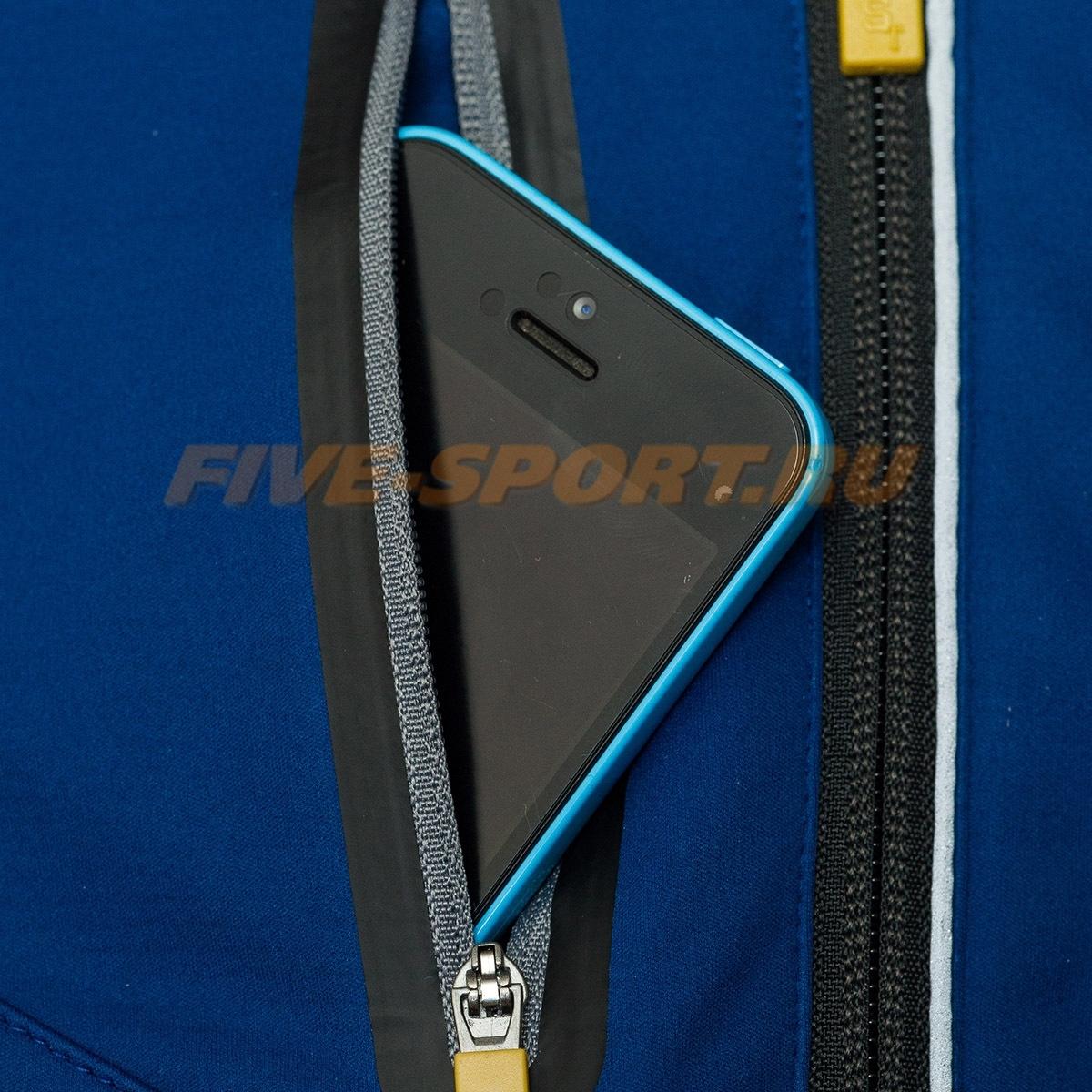 Лыжный костюм ST Pro Dressed Blue-yellow унисекс - 5
