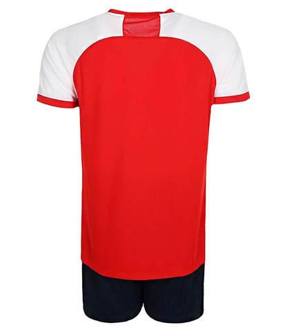 Asics Man Volleyball V-Neck Set мужская волейбольная форма красная