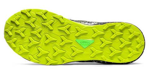 Asics Fujitrabuco Lyte кроссовки внедорожники мужские черные-зеленые (Распродажа)