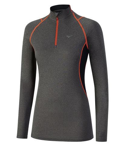 Термобелье рубашка женская Mizuno Wool Hz
