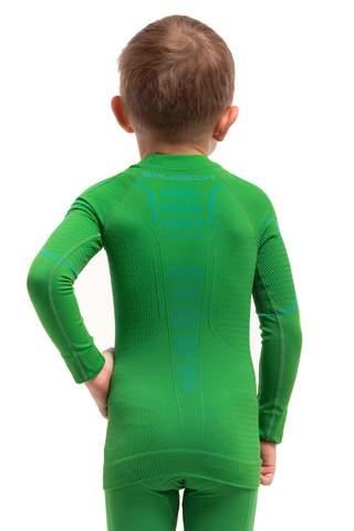 Brubeck Thermo детская терморубашка green