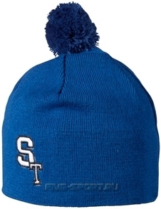 Шапка Stoneham Knitted blue