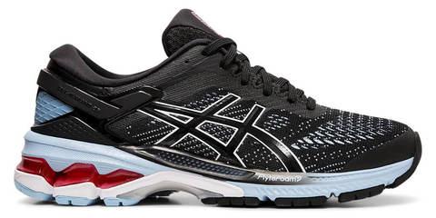 Asics Gel Kayano 26 кроссовки для бега женские черные-голубые