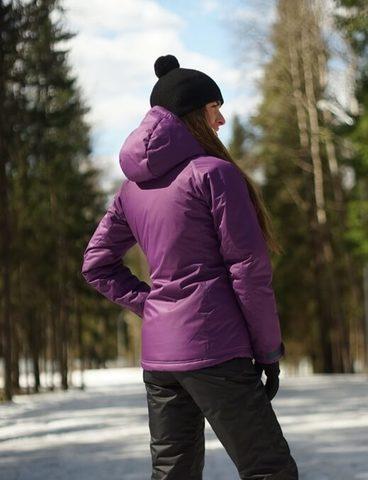 Nordski Motion детский утепленный лыжный костюм purple-black