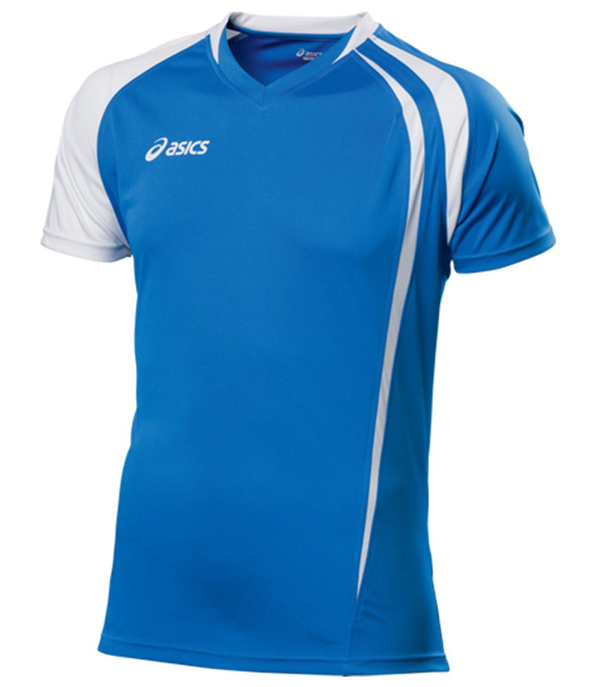 Asics T-shirt Fan Man футболка волейбольная blue
